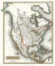 North America Map By Aaron Arrowsmith
