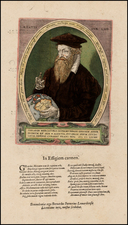 Polar Maps, South America, Curiosities, Title Pages, Portraits & People and America Map By  Gerard Mercator