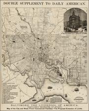 Mid-Atlantic Map By Hoen & Co.