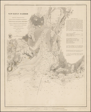 New England and Connecticut Map By United States Coast Survey / Sherman & Smith