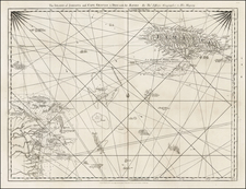 Jamaica and Central America Map By Thomas Jefferys