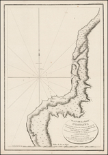 Russia in Asia Map By Jean Francois Galaup de La Perouse