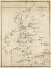 British Isles Map By John & Alexander Walker