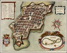 Balearic Islands Map By Matthaus Merian