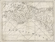 Mexico and Central America Map By Thomas Jefferys