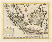 Southeast Asia and Other Islands Map By Giambattista Albrizzi