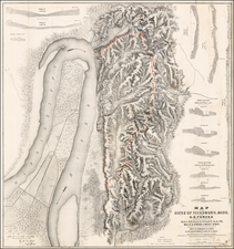 Mississippi Map By United States Bureau of Topographical Engineers