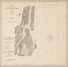 Florida Map By United States Coast Survey