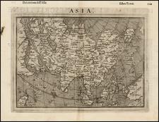 Asia, Asia, Japan and Australia Map By Girolamo Ruscelli / Giovanni Botero