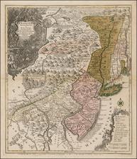 Mid-Atlantic Map By Tobias Conrad Lotter