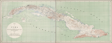 Caribbean Map By United States War Dept.