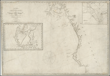 Florida and South Map By Edmund M. Blunt