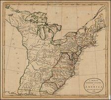 United States Map By William Guthrie