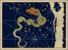 Celestial Maps Map By Johann Bayer