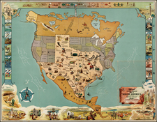 Texas Map By Mark Storm