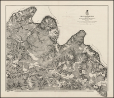 Virginia and Civil War Map By U.S. War Department