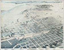Southwest Map By Augustus Koch