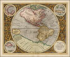 World, Western Hemisphere, Polar Maps, South America and America Map By Michael Mercator