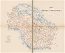 Cuba Map By Deposito de la Guerra
