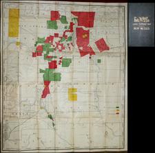 Southwest Map By Rand McNally & Company