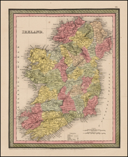 Ireland Map By Thomas, Cowperthwait & Co.