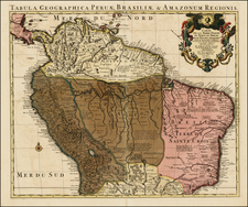 South America Map By Covens & Mortier