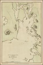 Alaska Map By Yuri Federovich Lisiansky