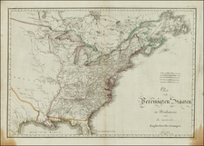 United States Map By Kunst & Industrie Comptoir