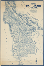 California Map By Edward Denny & Co.
