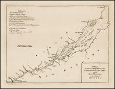 Canada Map By Thomas Jefferys