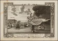 New England and Massachusetts Map By John Lodge / Andrew Millar