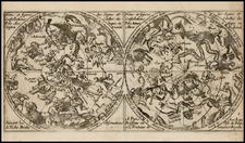Celestial Maps Map By Jean Boisseau