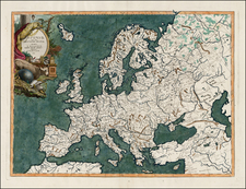 Europe, Europe, Turkey and Central Asia & Caucasus Map By Elia Endasian