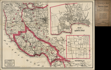 California Map By Punnett Brothers / C.F. Weber Co.