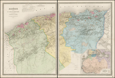 North Africa Map By Eugène Andriveau-Goujon