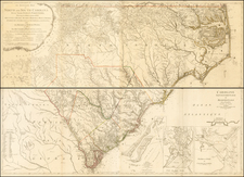 Southeast Map By George Louis Le Rouge / Henry Mouzon