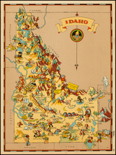 Map By Ruth Taylor White