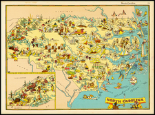 Southeast Map By Ruth Taylor White