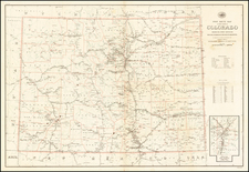 Southwest and Rocky Mountains Map By United States GPO