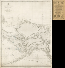 Polar Maps, Alaska and Canada Map By British Admiralty