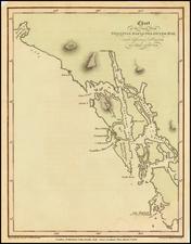 Alaska Map By Aaron Arrowsmith / Yuri Federovich Lisiansky