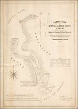 Texas Map By United States Bureau of Topographical Engineers