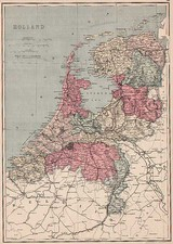 Europe and Netherlands Map By J. David Williams