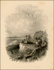 Title Pages Map By Joseph Hutchins Colton