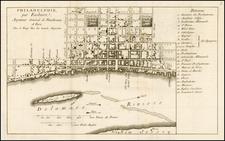 Mid-Atlantic Map By George Louis Le Rouge / Benjamin Eastburn