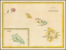 Hawaii and Hawaii Map By Capt. George Vancouver