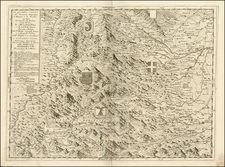 France, Italy and Northern Italy Map By Vincenzo Maria Coronelli