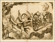 Comic & Anthropomorphic and Curiosities Map By Vincenzo Maria Coronelli