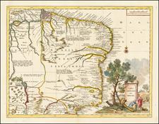 Brazil Map By Giambattista Albrizzi