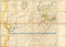 Mid-Atlantic, South, Southeast and Midwest Map By Thomas Hutchins